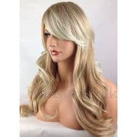Kimswigs.co.uk - Ladies Two Tone Blonde Long Layered Wig - Fleur